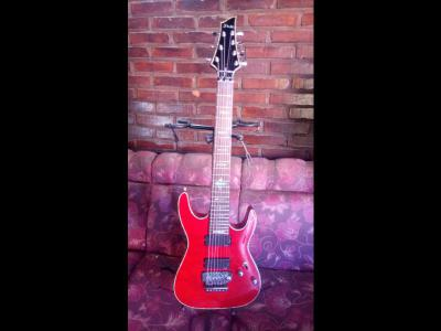 Varios  Guitarra 7 cuerdas Schecter Diamond Series. IMPECABLE.