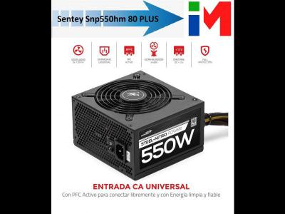 Varios  Fuente Pc Sentey Snp550hm 550w Real 80 Plus Modular Gamer