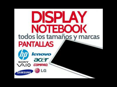 Varios  Pantallas Para Notebooks y Netbooks
