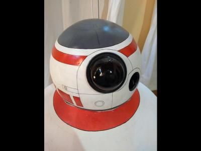 Varios  Traje cosplay BB-8 Star Wars the force awakens